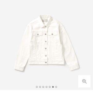 Everlane denim jacket in white